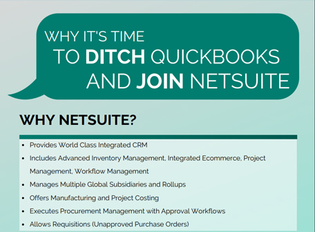 Why It's Time to Ditch Quickbooks and Join Netsuite